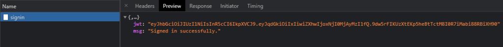 Golang JWT authentication